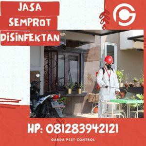 Jasa Semprot Disinfektan di Sumurejo Bubakan Semarang